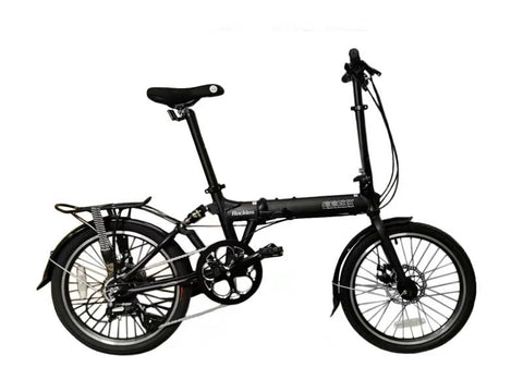 "Rockies - SOLOROCK 20"" 8 Speed Aluminum Folding Bike - Disc Brake"