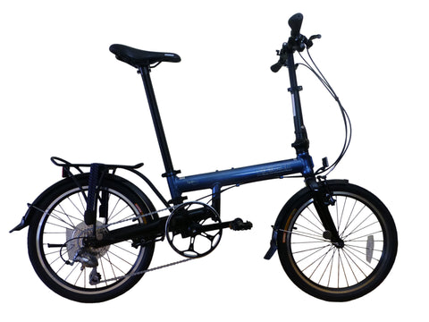 "Spin 5 - SOLOROCK 20"" 9 Speed Aluminum Folding Bike - Super Light"