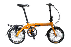 "Swift - SOLOROCK 16"" Single Speed Aluminum Folding Bike"