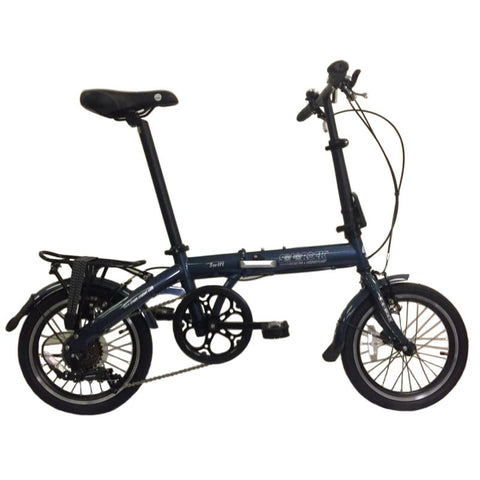 "Swift - SOLOROCK 16"" 7 Speed Upgraded Steel Folding Bike"