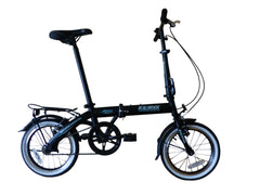"Swift - SOLOROCK 16"" Single Speed Upgraded Steel Folding Bike"