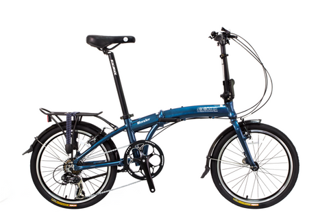 "Wonder - SOLOROCK 20"" 8 Speed Aluminum Folding Bike"