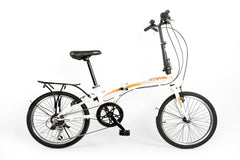 "ZOYO - 20"" 7 Speed Steel Folding Bike"