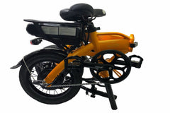 "Mini Cruiser 2020 - SOLOROCK 14"" Aluminum Folding e-Bike"