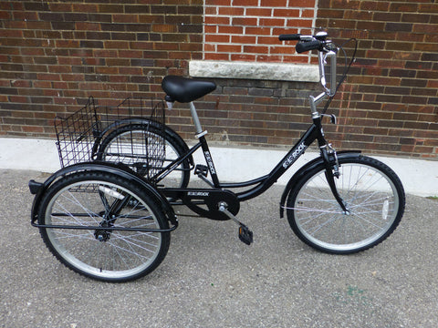 "SOLOROCK 26"" Single Speed Tricycle"