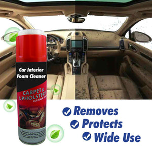 Car Interior Foam Cleaner