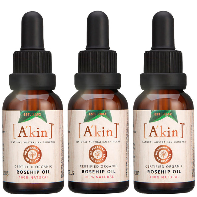 Rosehip Oil 100% 3 Pack
