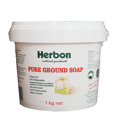 Pure Ground Soap