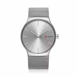 Curren Fit Metal Silver 40mm