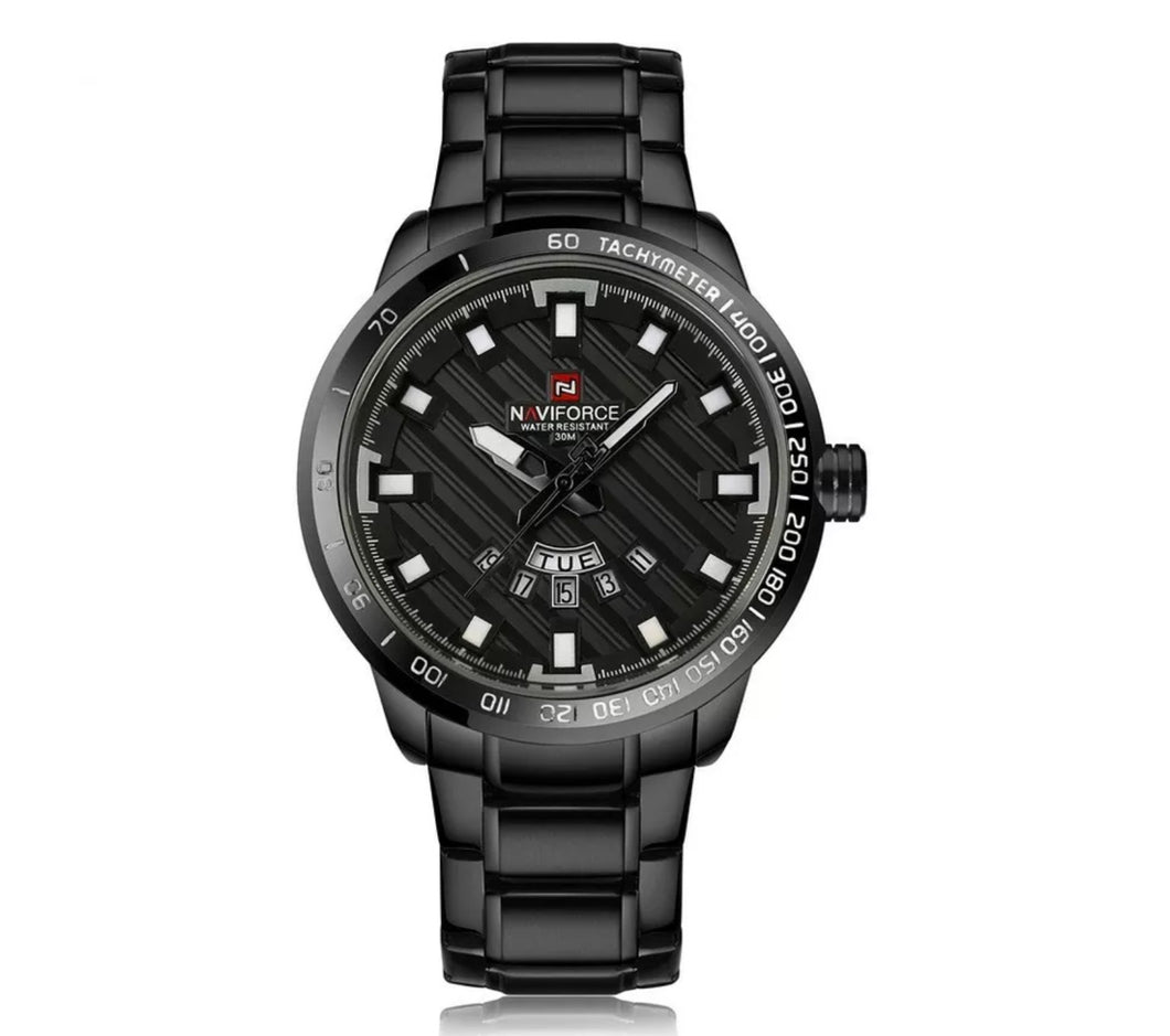 Naviforce First Class Black 47mm