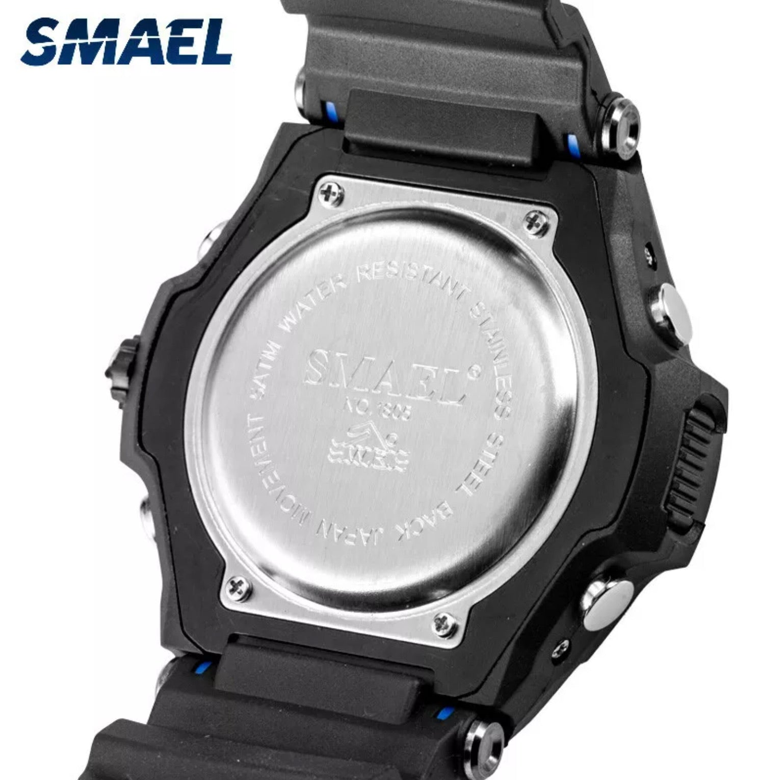Smael Military Sport Blue 47mm