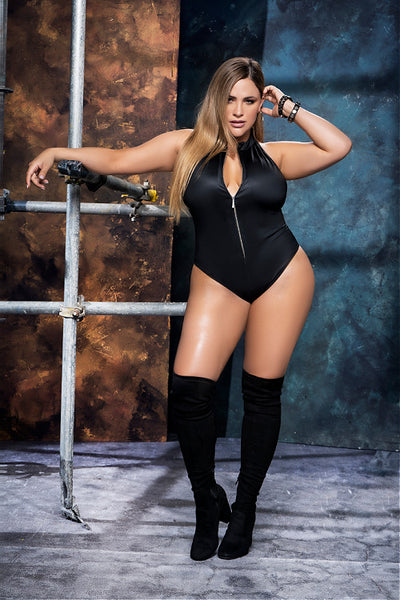 Gimme More, Papi! Plus Size Bodysuit