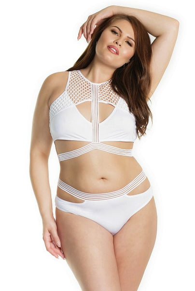 Sexy Sporty Mama- Plus Size Bralette Set