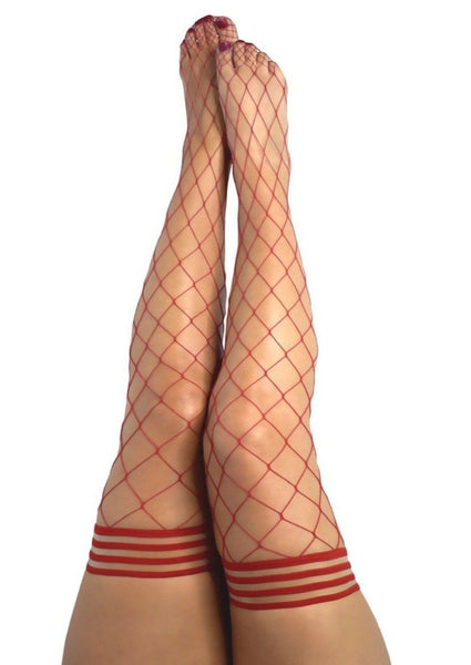 Wrap These Legs Around You!! Plus Size Fence Net Thigh Highs