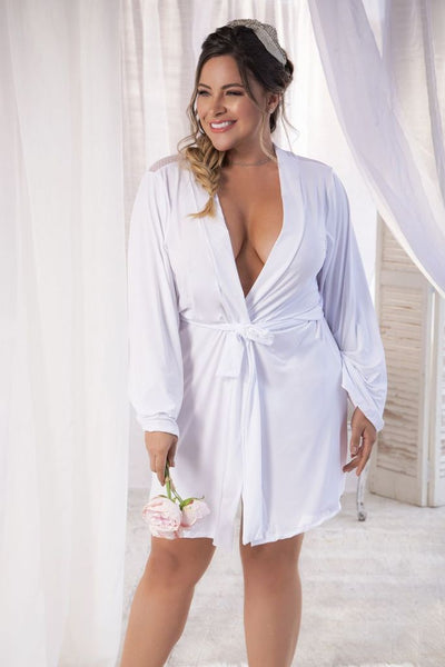 Bridezilla! Plus Size Bride Robe