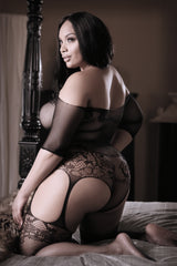 UMMM HMMM... Don't Play!! Plus Size Bodystocking