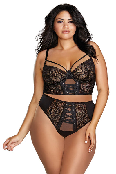 You Know I'm Superfly! Plus Size Bra Set