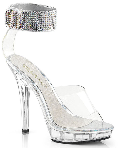Sexy Clear Stiletto Shoes