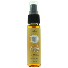 I'll take you deep down!  Deeply Love You Throat Relaxing Spray