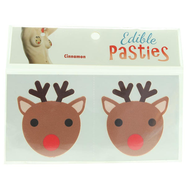 Lickable- Edible Reindeer Cinnamon Flavored Pastie