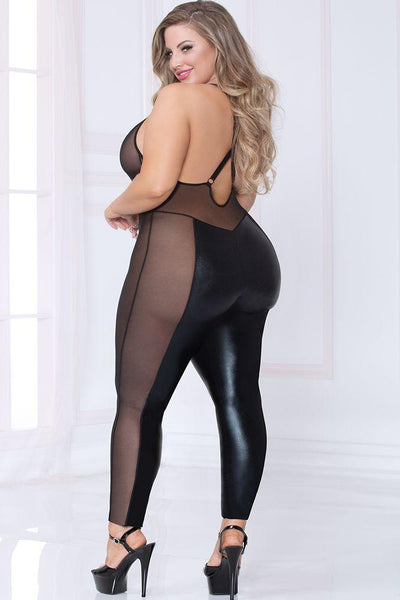 I'll be your Cat Woman!! Plus Size Catsuit