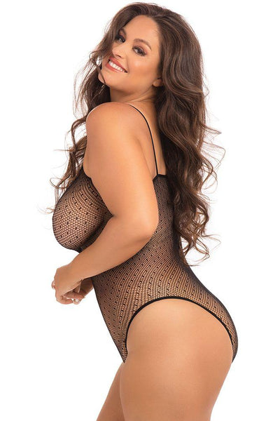 Too Sexy For Yo Ass! Plus Size Fishnet Lingerie