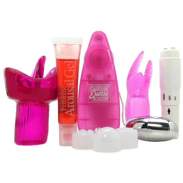 Clitty Play- Clitoral Vibrator Kit
