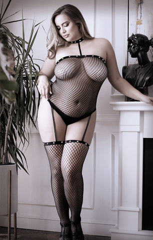 I'm With The Band- Plus Size Bodystocking