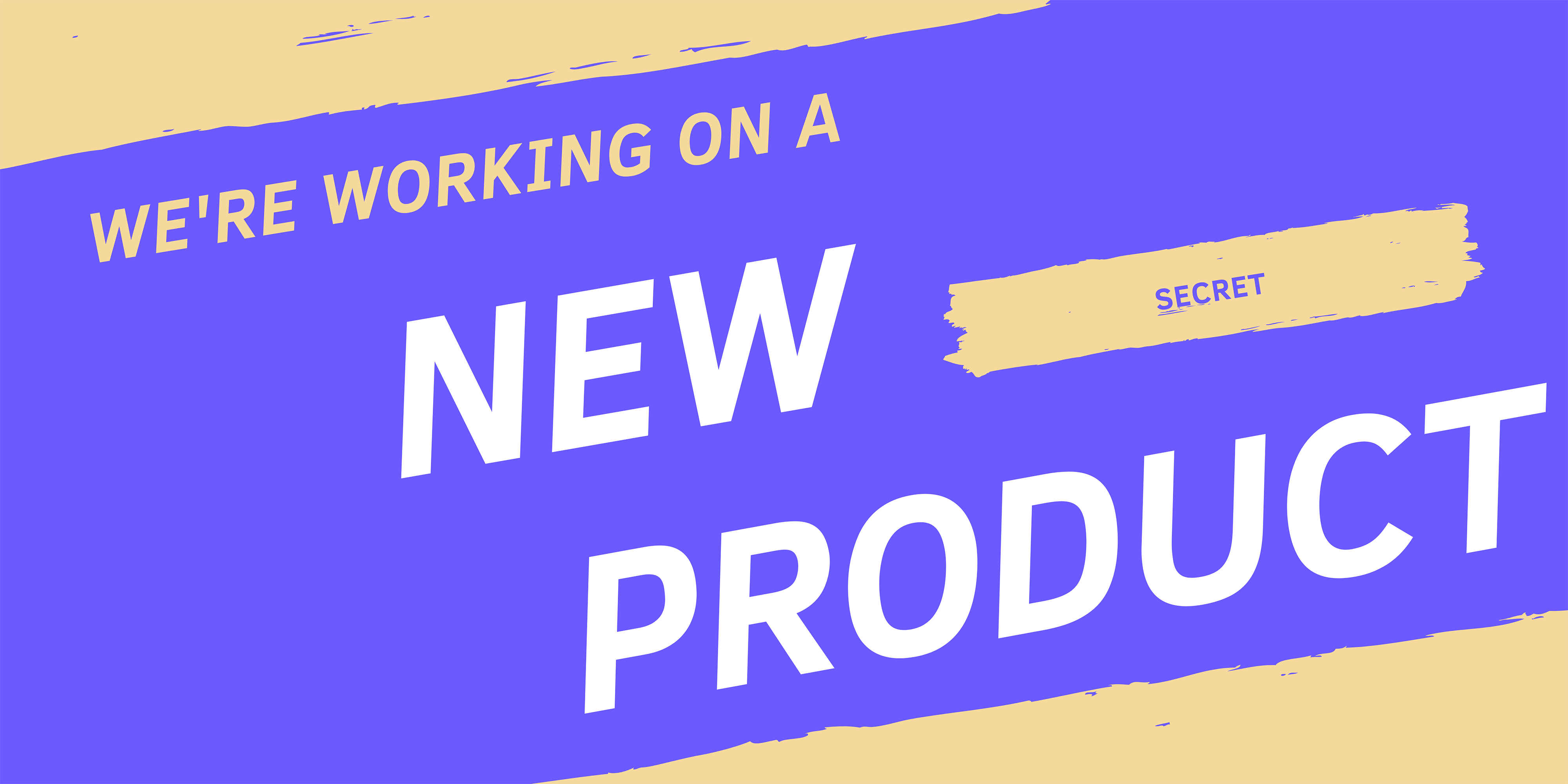 new product newsletter sign up