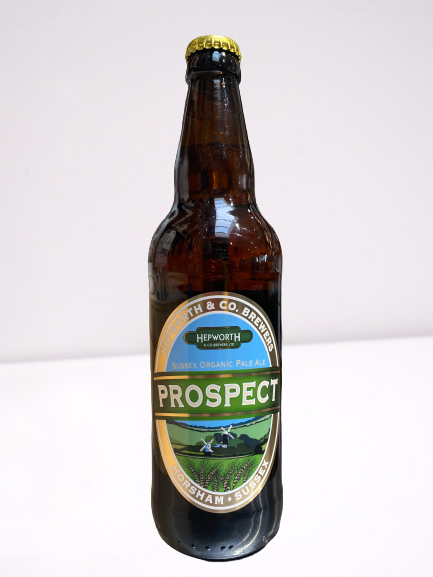 Hepworth brewery Prospect Pale Ale vegan gluten free 500ml bottle
