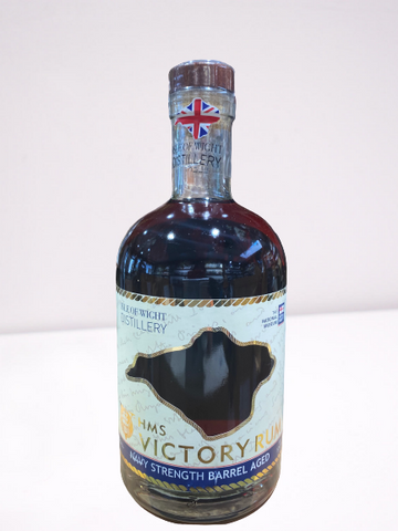 ISLE OF WIGHT DISTILLERY - HMS VICTORY NAVY STRENGTH RUM - n07