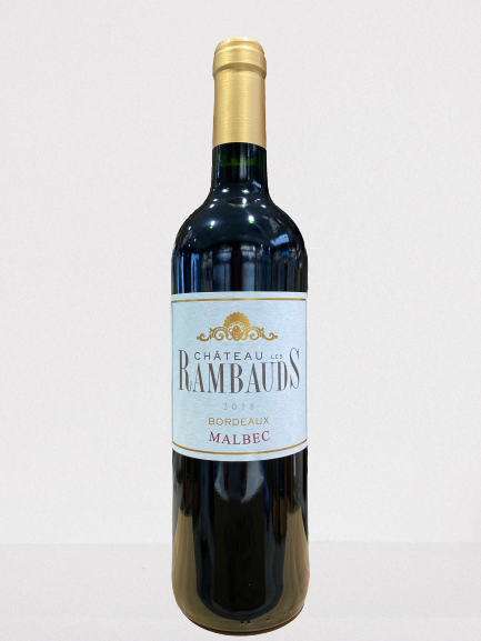 Château Rambauds - Malbec bordeaux red wine