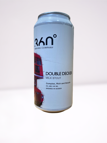 360 Degree  - Double Decker Milk Stout 440ml