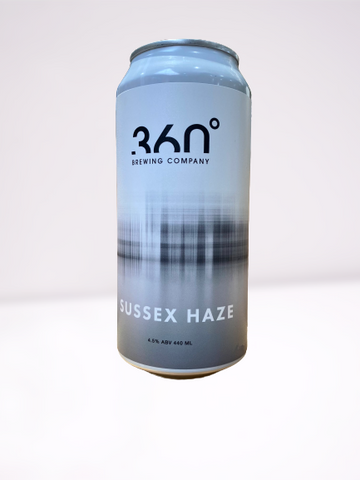 360 Degree - Sussex Haze Double Pale Ale 440ml