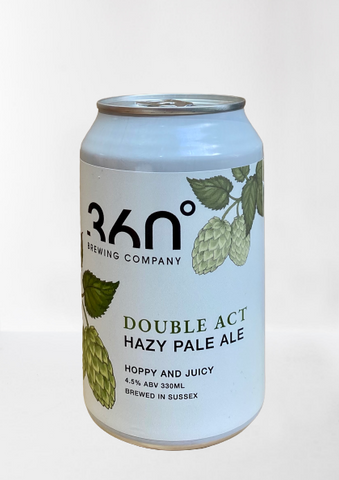 360 Degree  - Double Act Hazy Pale Ale 330ml