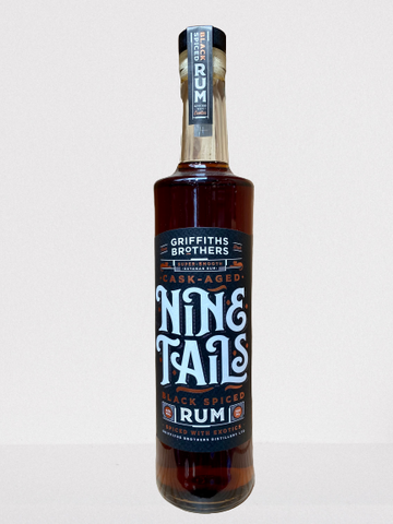 Griffiths Brothers Nine Tails Black Spiced Rum - n07