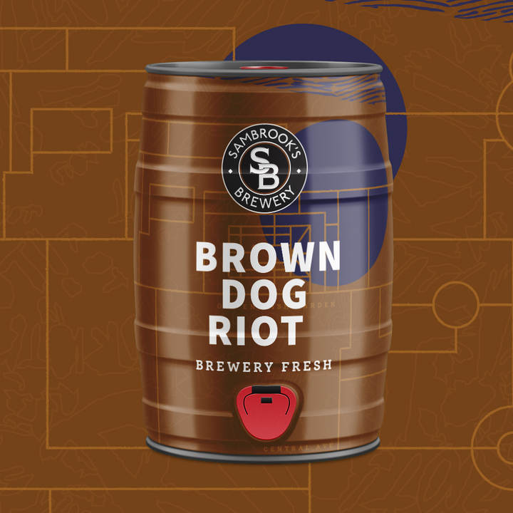 Brown Dog Riot 5L Minikeg