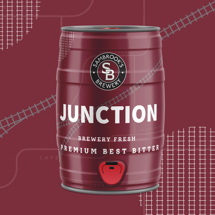 Junction Premium Best Bitter 5L Mini Keg