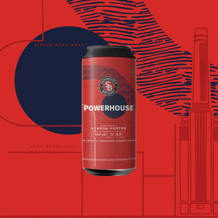 Powerhouse Porter Single Can 440ml