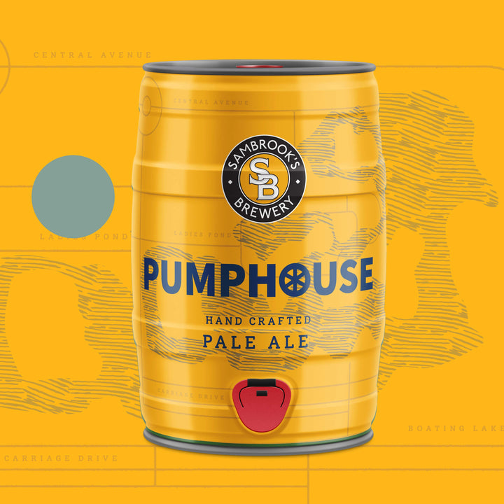 Pumphouse Pale 5L Minikeg