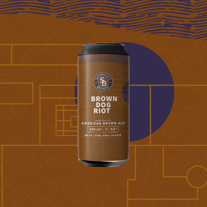 Brown Dog Riot Single Can 440ml