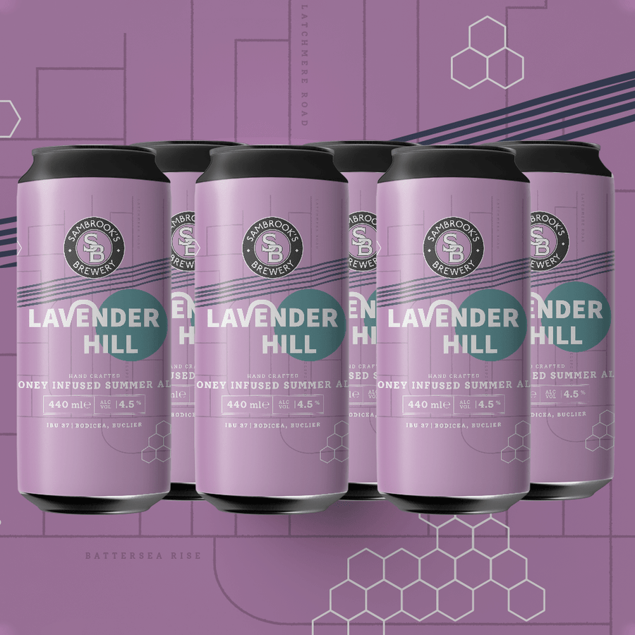 Lavender Hill 6-pack 440ml