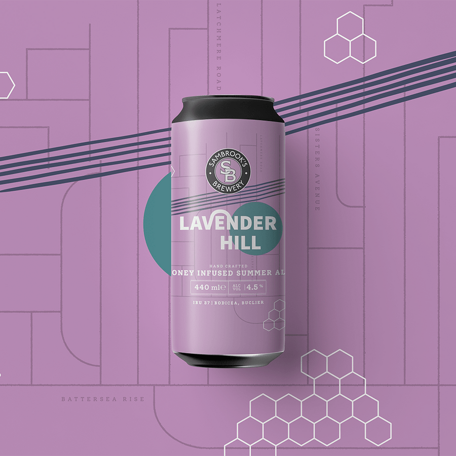 Lavender Hill Single Can 440ml