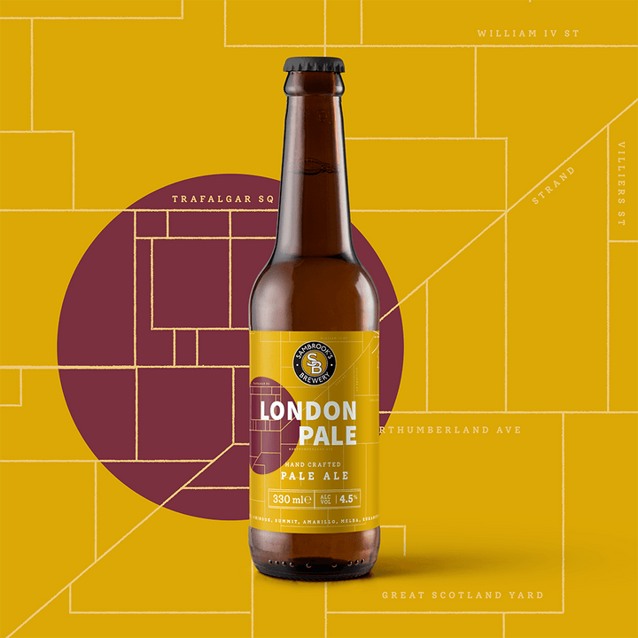 London Pale Single Bottle 330ml
