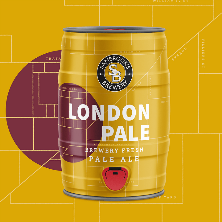 London Pale 5L Minikeg
