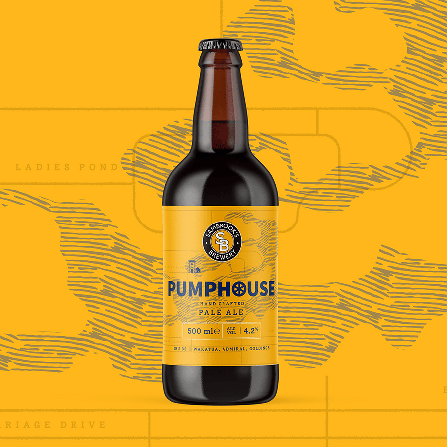 Pumphouse Pale Single Bottle 500ml