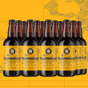 Pumphouse Pale 12-Pack Bottle 500ml