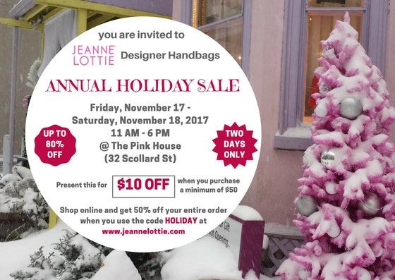 Annual Holiday Sale