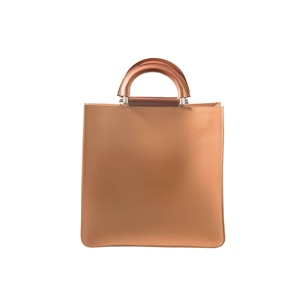 DYLAN Leather Handbag - Sand - Jeanne Lottie Handbags Canada