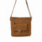 KAREN Leather Cross Body in Tan - Jeanne Lottie Handbags Canada
